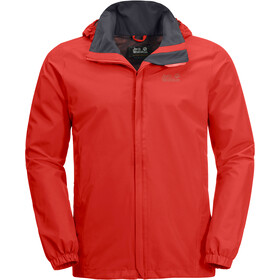 Jack Wolfskin Stormy Point Jacke Herren lava red